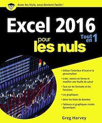 Télécharger le livre : Excel 2016 Tout en un pour les Nuls