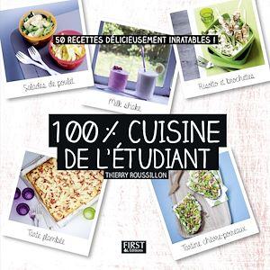 Téléchargez le livre :  100% cuisine de l'étudiant