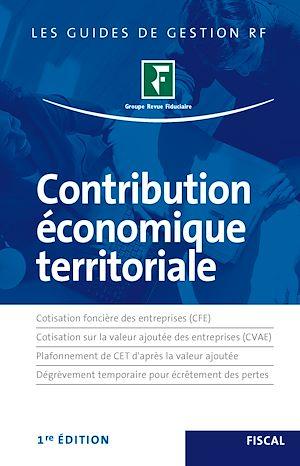 Téléchargez le livre :  Contribution économique territoriale
