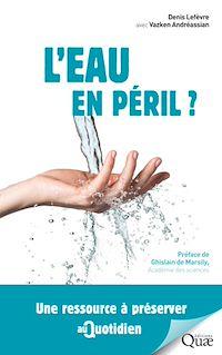 Télécharger le livre : L'eau en péril ?