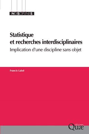 Téléchargez le livre :  Statistique et recherches interdisciplinaires