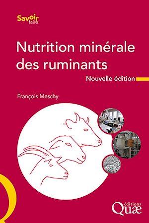 Téléchargez le livre :  La nutrition minérale des ruminants