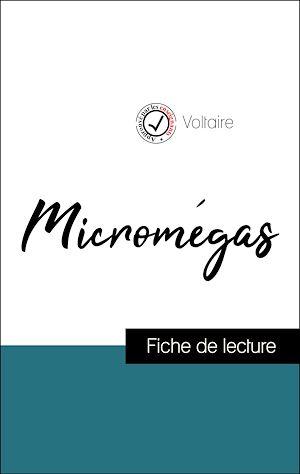 Téléchargez le livre :  Analyse de l'œuvre : Micromégas (résumé et fiche de lecture plébiscités par les enseignants sur fichedelecture.fr)