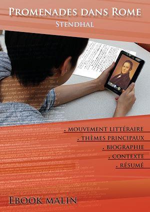 Téléchargez le livre :  Fiche de lecture Promenades dans Rome - Résumé détaillé et analyse littéraire de référence