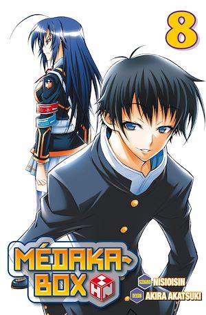 Téléchargez le livre :  Médaka-Box T08