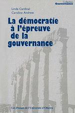 Télécharger le livre :  La Démocratie à l'épreuve de la gouvernance