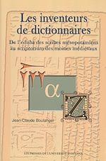 Télécharger le livre :  Les Inventeurs de dictionnaires