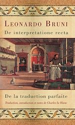Télécharger le livre :  De interpretatione recta - De la traduction parfaite