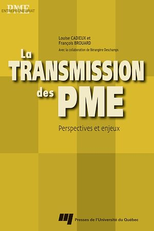 Téléchargez le livre :  La transmission des PME