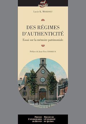 Téléchargez le livre :  Des régimes d'authenticité
