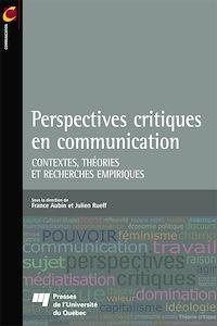 Télécharger le livre : Perspectives critiques en communication