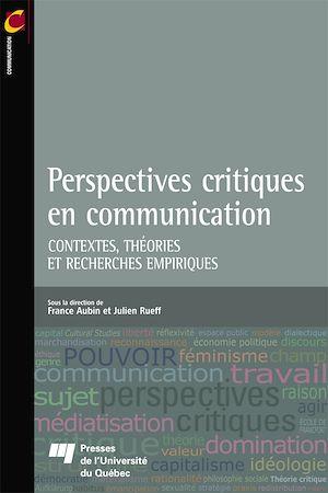 Téléchargez le livre :  Perspectives critiques en communication