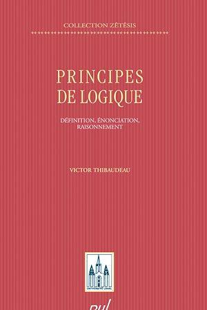 Téléchargez le livre :  Principes de logique