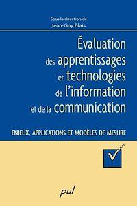 Télécharger le livre : Évaluation des apprentissages et technologies de l'information et de la communication
