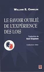 Télécharger le livre :  Le savoir oublié de l'expérience des lois