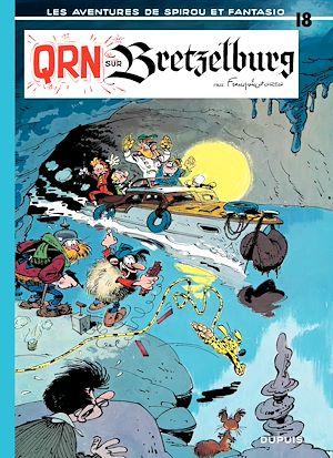 Téléchargez le livre :  Spirou et Fantasio - Tome 18 - QRN SUR BRETZELBURG