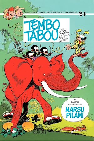 Téléchargez le livre :  Spirou et Fantasio - Tome 24 - TEMBO TABOU