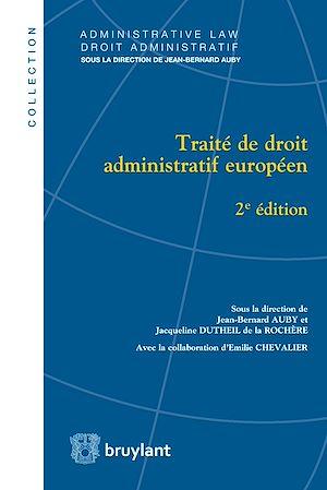 Téléchargez le livre :  Traité de droit administratif européen