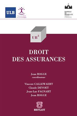 Téléchargez le livre :  Droit des assurances