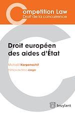 Télécharger cet ebook : Droit européen des aides d'État