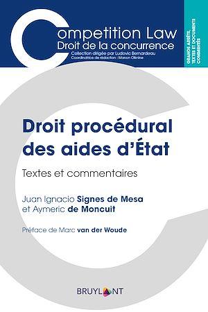 Téléchargez le livre :  Droit procédural des aides d'État