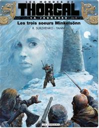 Télécharger le livre : La jeunesse de Thorgal - Tome 1 - 48hBD - Les trois soeurs Minkelsönn