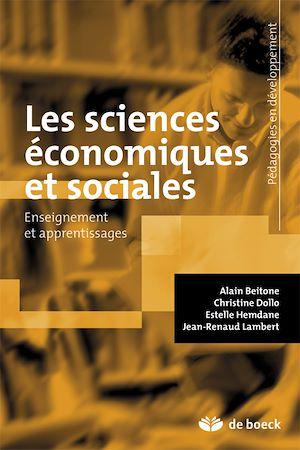 Téléchargez le livre :  Les sciences économiques et sociales