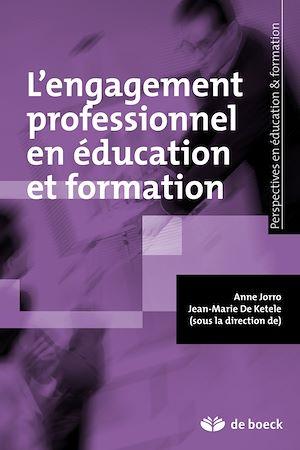 Téléchargez le livre :  L'engagement professionnel en éducation et formation