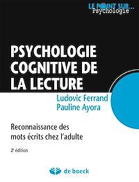 Télécharger le livre : Psychologie cognitive de la lecture