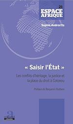 Télécharger le livre :  «Saisir l'État»