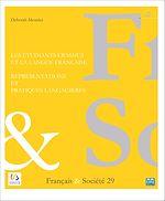 Télécharger cet ebook : Les étudiants Erasmus et la langue française : représentations et pratiques langagières