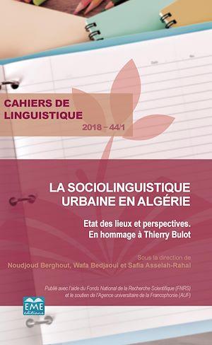 Téléchargez le livre :  La sociolinguistique urbaine en Algérie