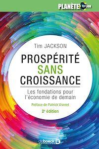 Télécharger le livre : Prospérité sans croissance