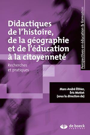 Téléchargez le livre :  Didactiques de l'histoire de la géographie et de l'éducation à la citoyenneté