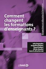 Télécharger le livre :  L'évolution des formations des enseignants
