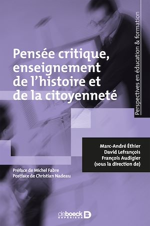 Téléchargez le livre :  Pensée critique enseignement de l'histoire et de la citoyenneté