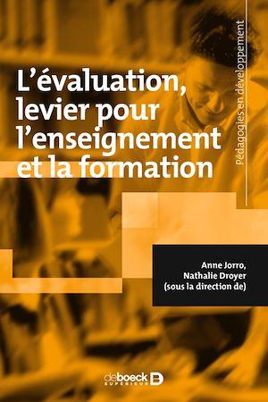 Téléchargez le livre :  L'évaluation : levier pour l'enseignement et la formation