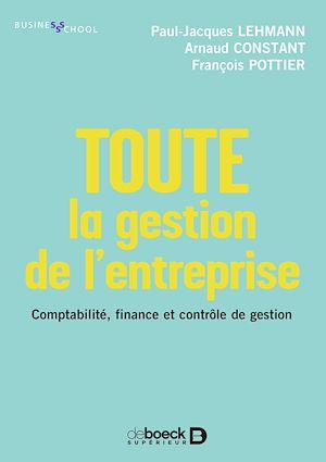 Téléchargez le livre :  Toute la gestion de l'entreprise
