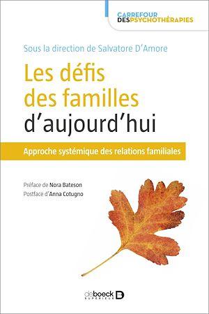 Téléchargez le livre :  Les défis des familles d'aujourd'hui