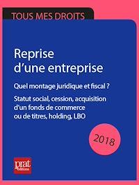 Télécharger le livre : Reprise d'une entreprise 2018
