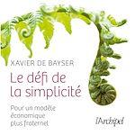 Télécharger le livre :  Le défi de la simplicité