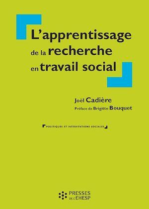Téléchargez le livre :  Apprentissage de la recherche en travail social