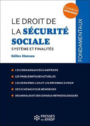 Téléchargez le livre :  Le droit de la Sécurité sociale