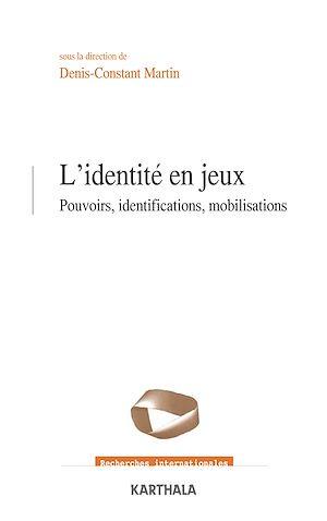 Téléchargez le livre :  L'identité en jeux