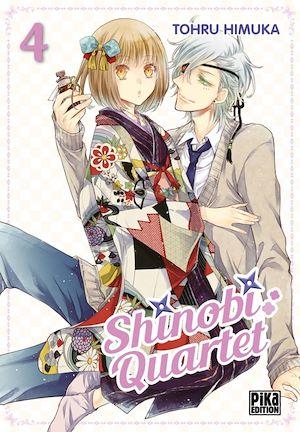 Téléchargez le livre :  Shinobi Quartet T04