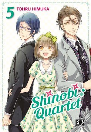 Téléchargez le livre :  Shinobi Quartet T05