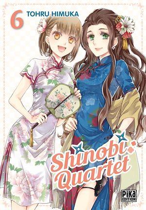 Téléchargez le livre :  Shinobi Quartet T06