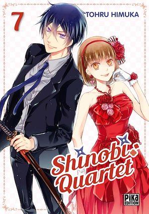 Téléchargez le livre :  Shinobi Quartet T07