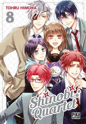 Téléchargez le livre :  Shinobi Quartet T08