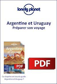 Télécharger le livre : Argentine et Uruguay 7 - Préparer son voyage